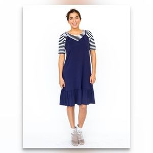 Slip Dress - Navy